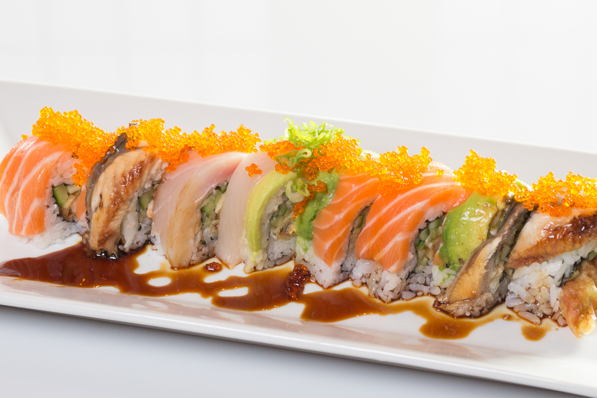 Tail Of The Dragon Photos >> Special Roll « Sushi Heaven